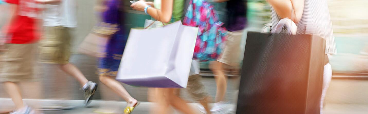 Shopping at Highbury