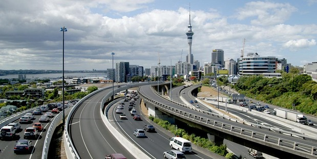 Auckland Traffic - Getty